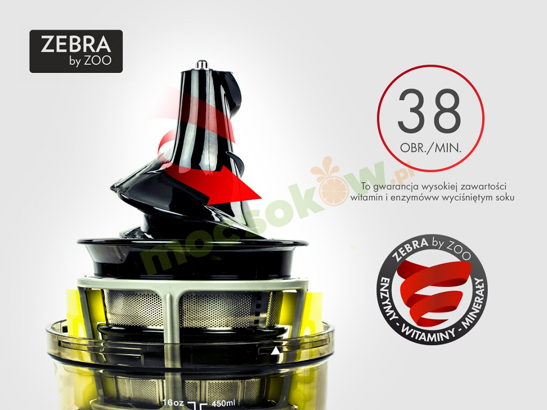 Zebra Whole Slow Juicer Zoo : ZEBRA Whole Slow Juicer + Gratis - visvitalis