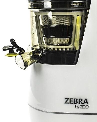 Wyciskarka byZoo ( Zebra ) posiada również korek niekapek